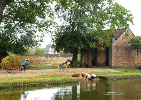 Thơ hay về làng quê, nông thôn Việt Nam