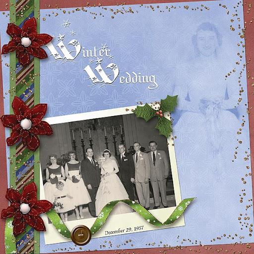 Garner - Jackson Wedding (12/29/1957)