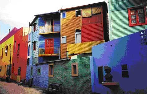 El caminito (Barrio de La Boca)