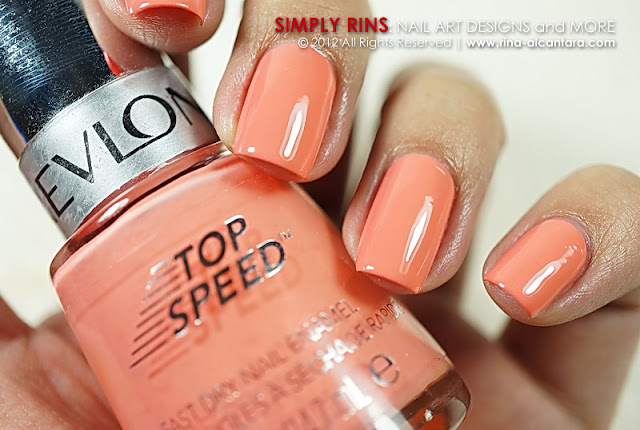 Revlon Top Speed Peachy