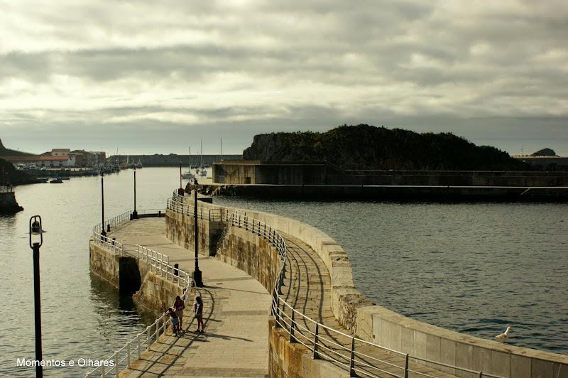 Cudillero, Porto desde o farol