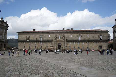 "Parador de Santiago Compostela"" width="