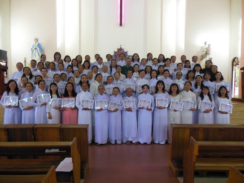 Các Bà Mẹ Công Giáo Giáo Xứ Bình Cang kỷ niệm 20 năm thành lập (1993 – 2003)