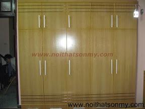 Tủ quần áo gỗ veneer