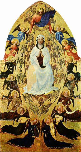 Masolino da Panicale - L' Assunzione della Vergine