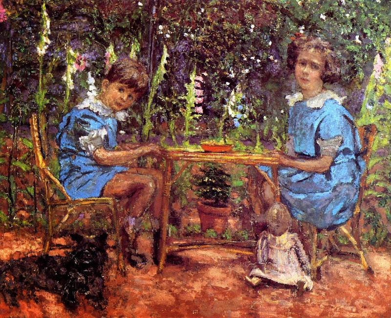Édouard Vuillard - The Bassiano Children