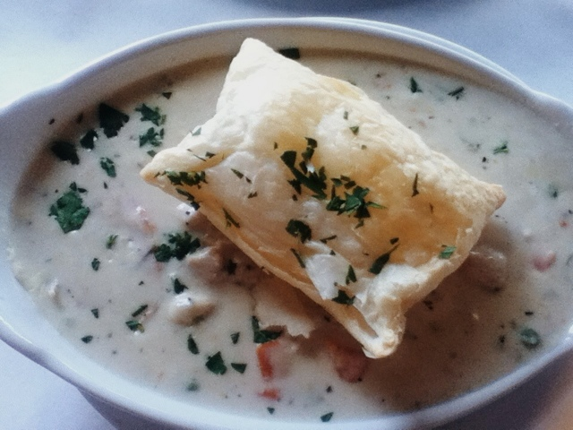 argentine bean chicken pot puff, kentucky restaurants, food