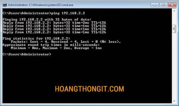 cấu hình định tuyến động (Dynamic route) trên windows server 2008