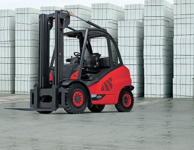 Linde Forklift H40-50D