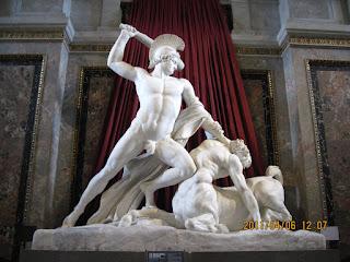 Θησέας Ελλήνων σκοτώνει Κένταυρο, Thiseus killing Centaur