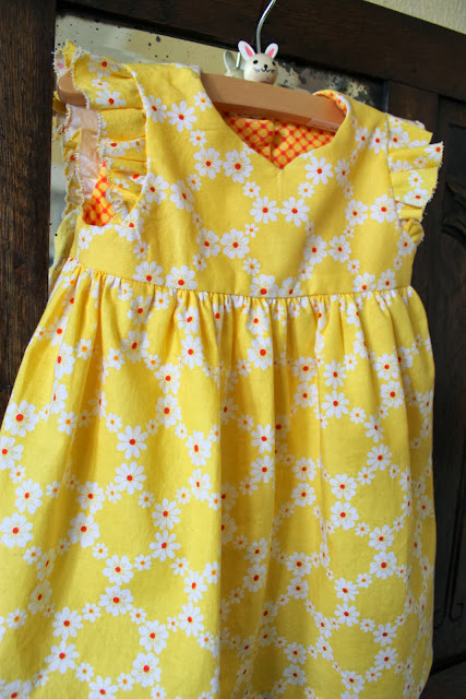 you are my sunshine geranium dress