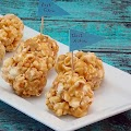 Sweet and Salty Popcorn Ball Bites