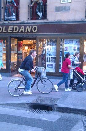 Más multas para los ciclistas por zonas peatonales