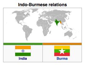 Burma - India Relations