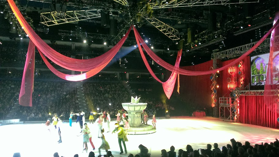 IMAG5076 Disney on Ice   Lets Celebrate {Review}