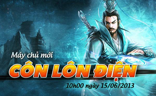 Côn Lôn có mặt trong Võ Lâm Truyền Kỳ II từ 15/06 3
