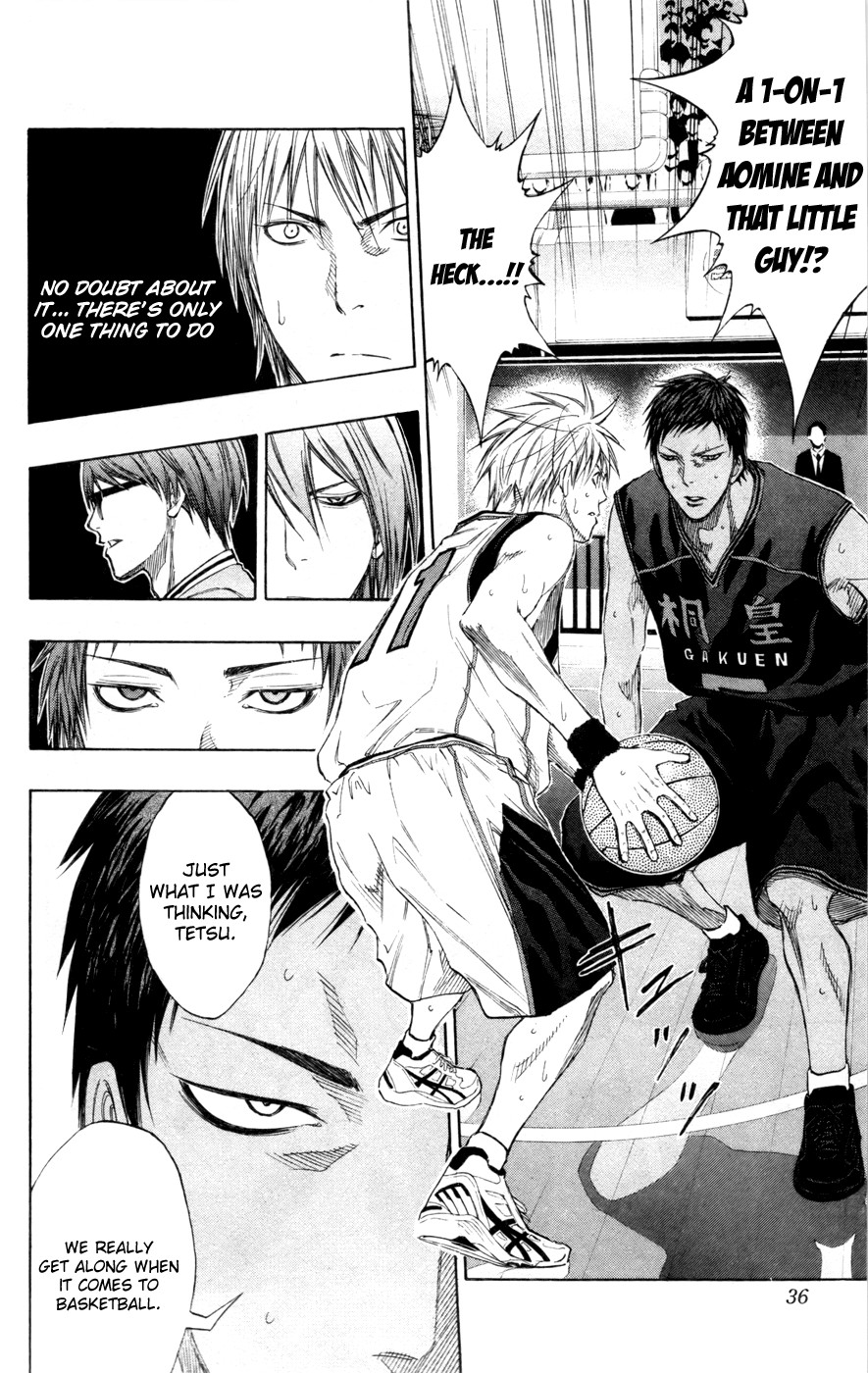 Kuroko no Basket Manga Chapter 119 - Image 4_036