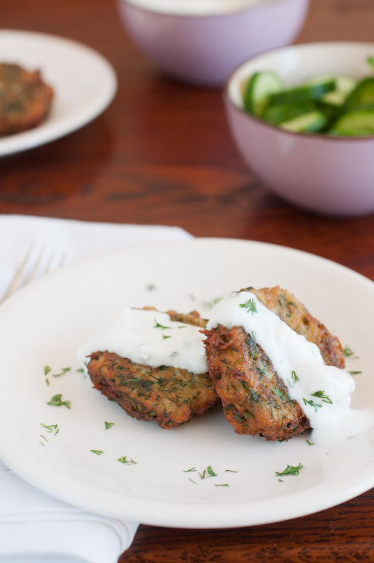herb potato pancakes