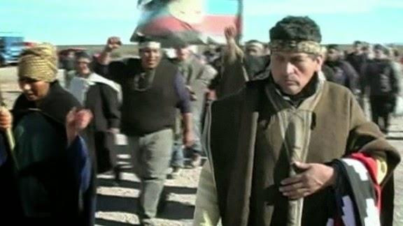 Argentine indigenous people protest against shale deal