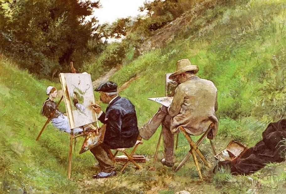 José Jiménez Aranda - Los Dos Pintores