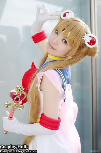 sailor moon supers cosplay - super sailor moon