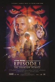 Poster of the film, Star Wars Episode 1: The Phantom Menace