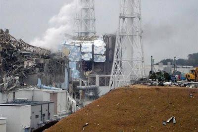 Explosion en la planta Fukushima