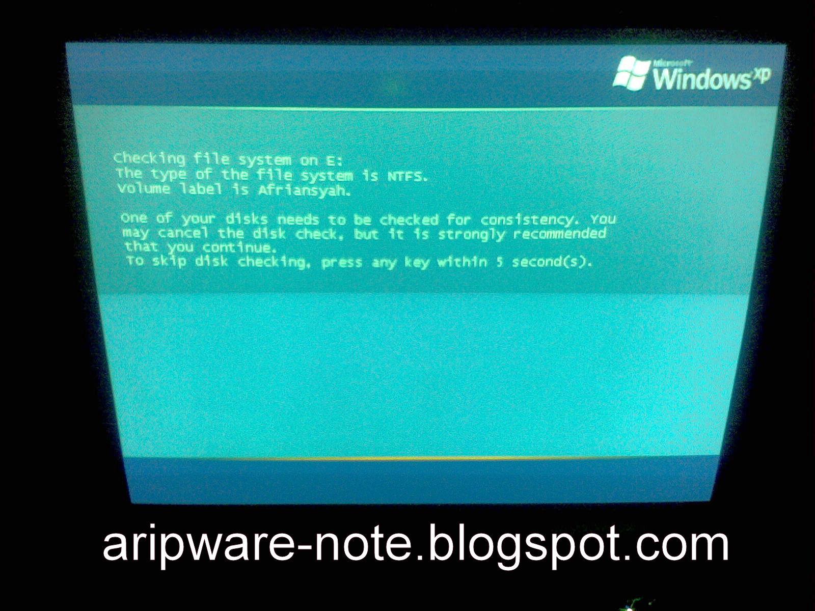 scandisk pada hardisk hardisk mengalami badsector 4kb hardisk akan
