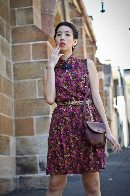 NoraFinds | Vintage Fashion Blogger Sydney |Vintage Australian Embassy Shift Dress