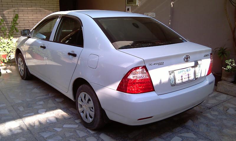 Corolla X-assista 2006 modification - 02