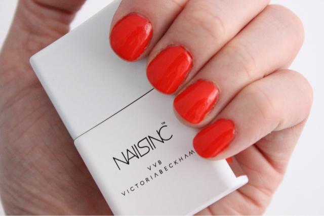 Victoria Victoria Beckham X Nails Inc Judo Red A