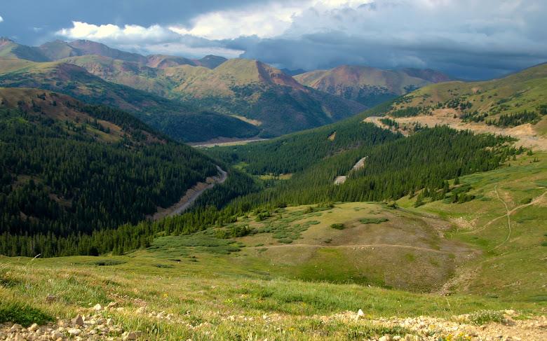 Loveland Pass, looking east