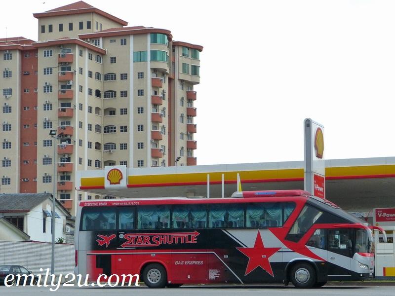 Express Bus: Ipoh - KLIA - KLIA2