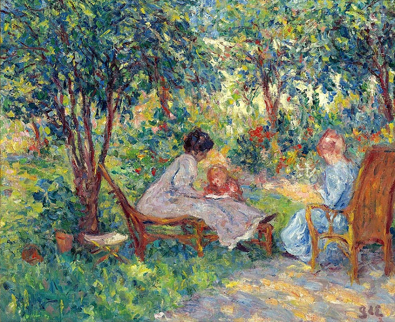 Georges d'Espagnat - In the Garden