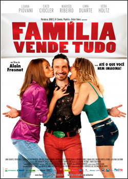 Filme Poster Família Vende Tudo DVDRip XviD & RMVB Nacional