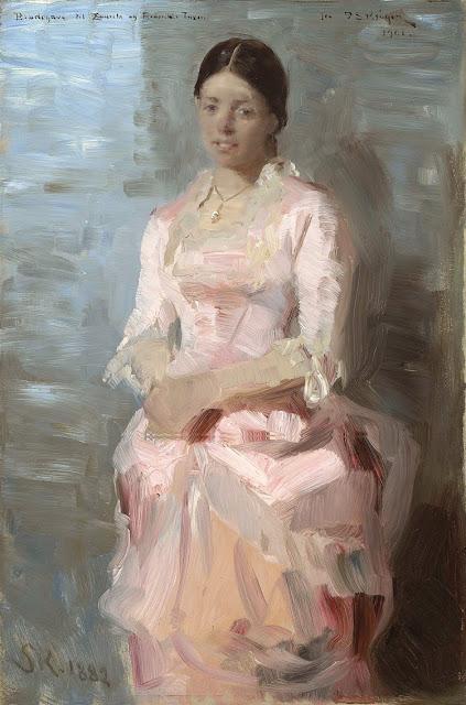 Peder Severin Krøyer - Frederikke Tuxen