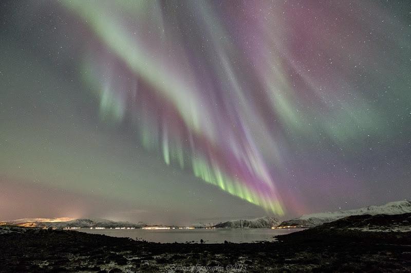 Northern lights in Northern Norway. Photographer Benny Høynes