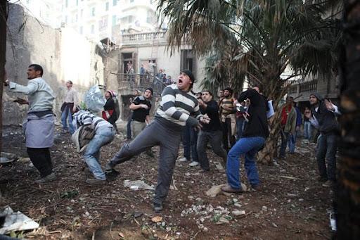 Egyptian Revolution شريف الحكيم Victors