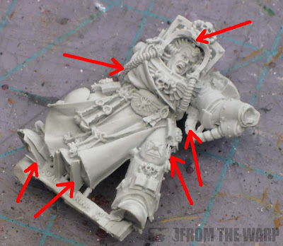 Finecast Terminator Space Marine Librarian
