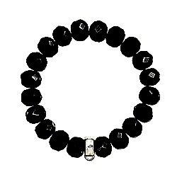 Thomas Sabo black obsidion bracelet