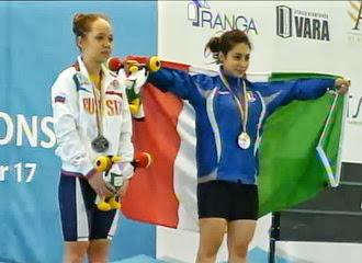 Pesistica - Titolo europeo Under 17 per Alessandra Pagliaro