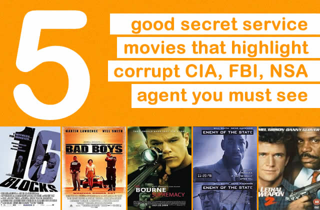 5 good secret service cia fbi movies