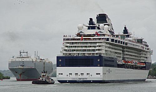 Panama Canal Celebrity Cruises - Seascanner.com