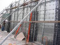 免拆模金屬板牆-安裝內視圖一