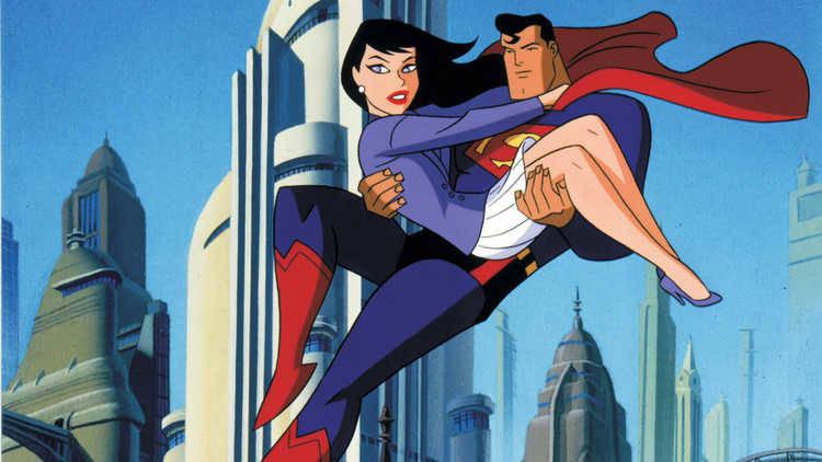 Superman animado ocupa la posición número 10 de nuestro top ten de las series de superhéroes