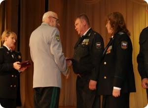 В Твери судебным приставам вручили медали за безупречную службу