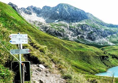 Vilsalpsee Rauhhorn Jubiläumsweg Saalfelder Höhenweg Traualpen Schrecksee Allgäu Hinterstein