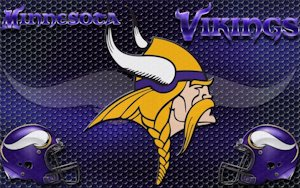 Minnesota Vikings Heavy Metal Wallpaper