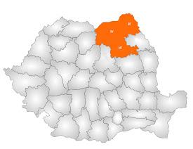 Varianta în care s-ar forma o regiune din judeţele Suceava, Botoşani şi Neamţ