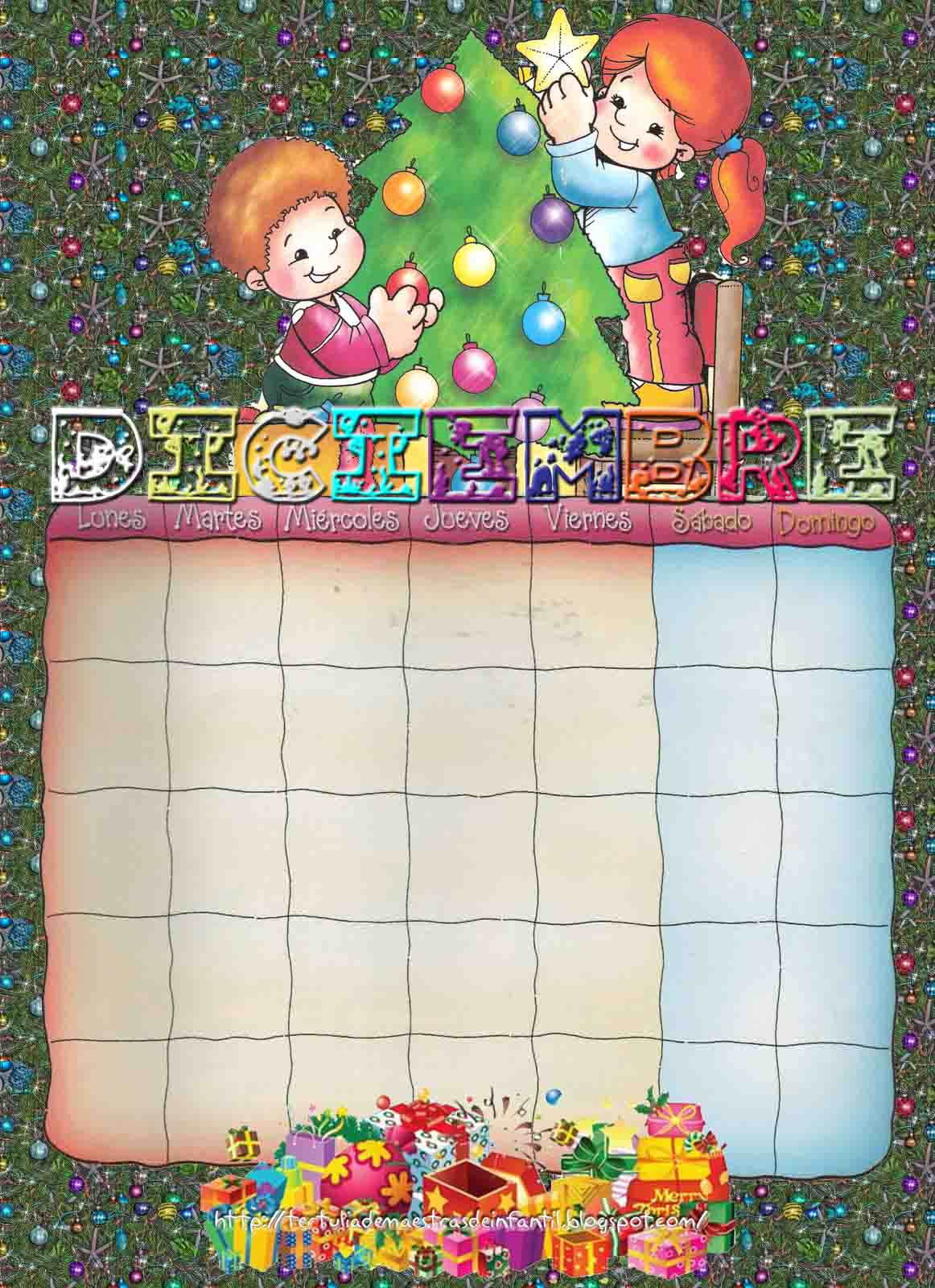 Esos Locos Bajitos De Infantil Calendario A Color